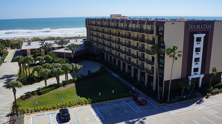 North Atlantic Avenue Florida 32931 Pandey Hotel Corporation A Premier Real Estate Company Doubletree By Hilton Cocoa Beach Oceanfront